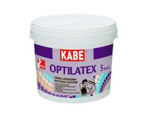 Optilatex farba lateksowa do ścian i sufitów KABE