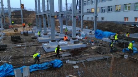 Rozbudowa szpital MSW Kielce