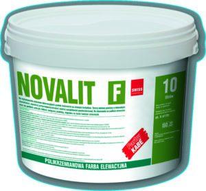 NOVALIT F polikrzemianowa farba elewacyjna